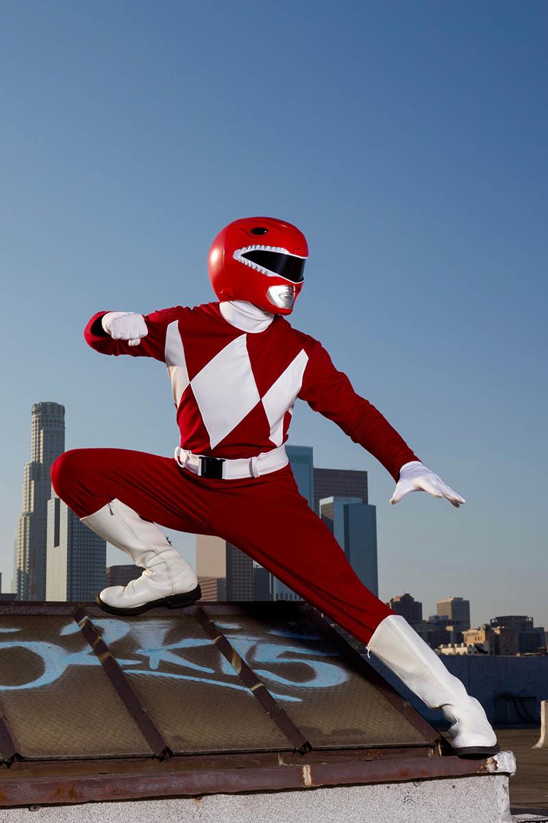 Power ranger party character for kids in nashville